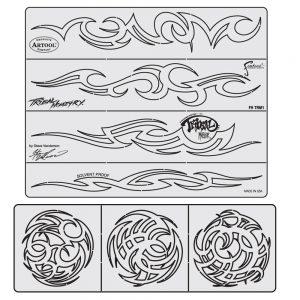 Steve Vandemon's Tribal Master Stencil Set