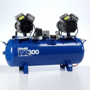 Bambi VT300 Oil Free Ultra Low Noise Compressor with Dyer