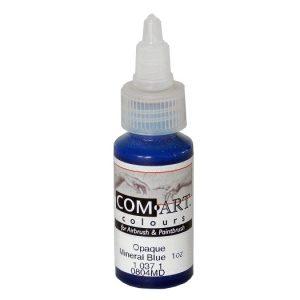 Com-Art Opaque Mineral Blue 1oz (28 ml)