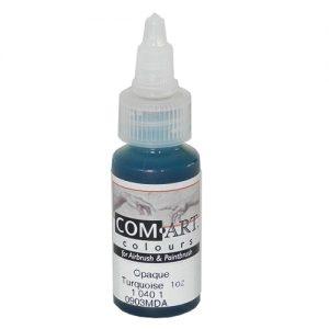 Com-Art Opaque Turquoise 1oz (28 ml)