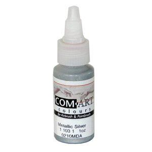 Com-Art Opaque Silver 1oz (28 ml)