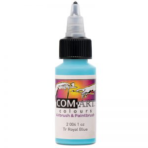 Com-Art Transparent Royal Blue 1oz(28ml)
