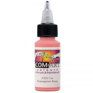 Com-Art Transparent Rose 1oz (28 ml)