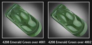 Auto-Air Semi Opaque Emerald Green