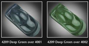 Auto-Air Semi Opaque Dark Green