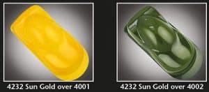 Auto-Air Transparent Sun Gold