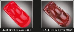 Auto-Air Transparent Fire Red