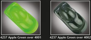 Auto-Air Transparent Apple Green
