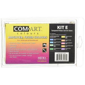 Com-Art Kit E Primary Transparent