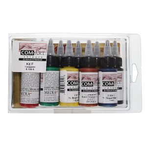 Com-Art Kit F Transparent Secondary-10x28ml