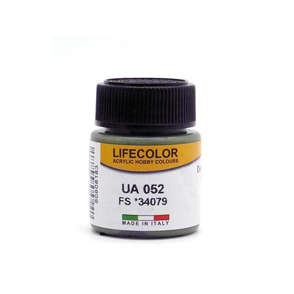 UA052 LifeColor   Dark Green RLM 71   FS 34079   22ml