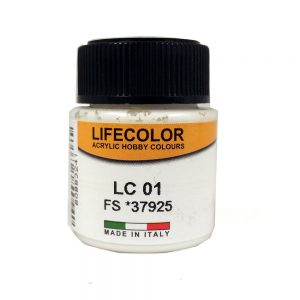 LC01 LifeColor Matt White GraphicAir