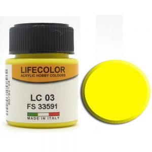 LifeColor Matt Yellow (22ml) FS 33591