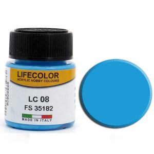 LifeColor Matt Pale Blue (22ml) FS 35182