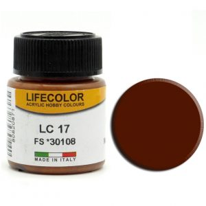 LifeColor Matt Brown (22ml) FS 30108