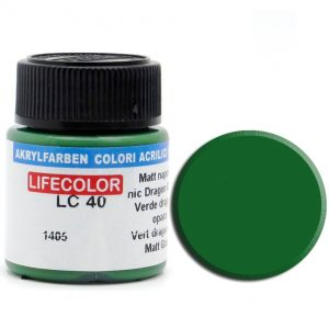 LifeColor Matt Napoleonic Dragon Green (22ml) FS 34062