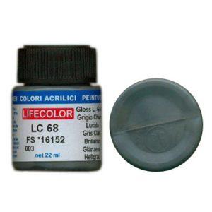 LifeColor Gloss Light Grey (22ml) FS 16152