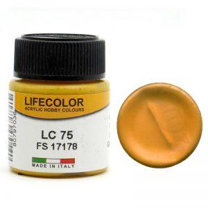 LifeColor Gloss Gold (22ml) FS 17043