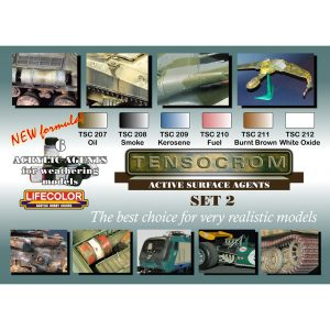 LifeColor Tensocrom Set 1 (22ml x 6)