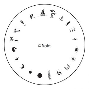 Medea Design Wheel - Tropical
