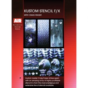 Kustom Stencil F/X with Craig Fraser (DVD)