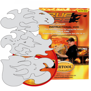 True Fire Mini Set of 3 templates with DVD