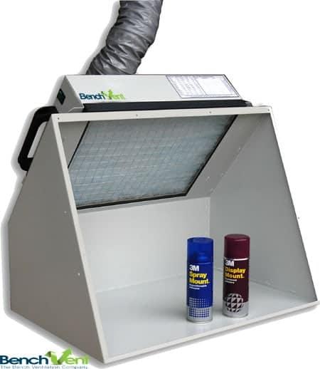 Airbrushing Spray Booth