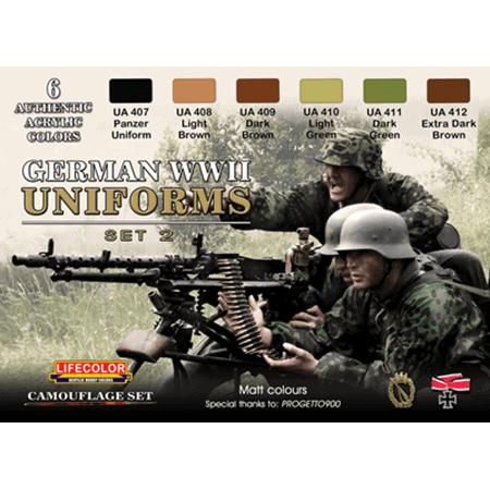 LifeColor German WWII Uniforms Set 2