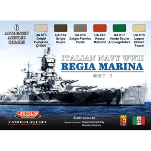 LifeColor Italian Navy WWII Set