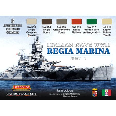 LifeColor Italian Navy WWII Set