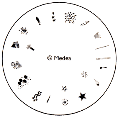 Medea Design Wheel - 4th of July