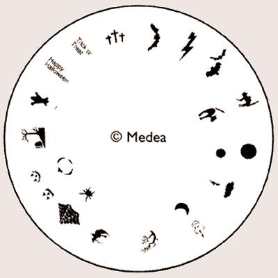 Medea Design Wheel - Halloween