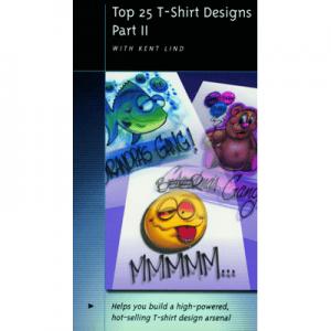 Top 25 T-Shirt Designs Part II (DVD)