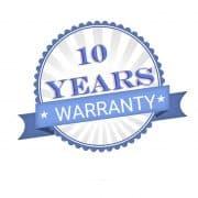 10 years warranty on Iwata