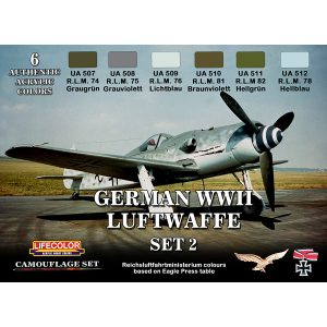 LifeColor German WWII Luftwaffe Set 2