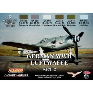 LifeColor German WWII Luftwaffe Set 2