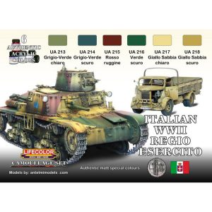 LifeColor Italian Army WWII Regio Esercito Set