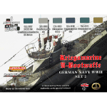 LifeColor German WWII Kriegsmarine U-Boat Set 2