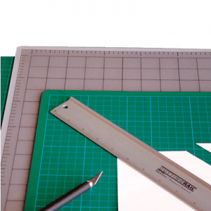 Artool Cutting Mat (45cm x 60cm) Grey/Black