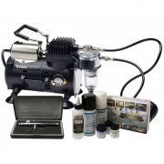 Iwata Scale Modeller Sprint Jet compressor and airbrush kit