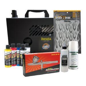 Iwata Smart Jet Pro Auto Graphics Airbrush Kit