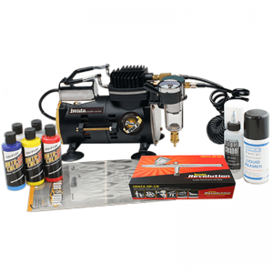 Iwata Custom Graphics airbrush kit with Sprint Jet compressor