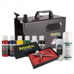Iwata Textile Airbrush Kit with Power Jet Lite compressor