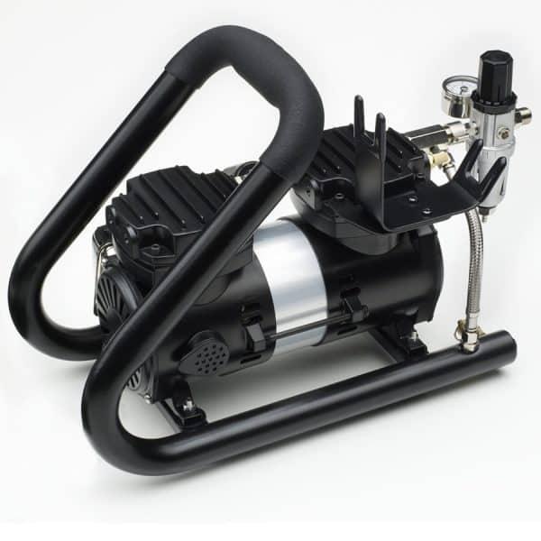 Iwata Power Jet Plus Handle Tank Air Compressor