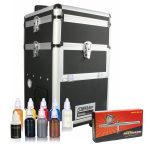 Iwata Professional Body Art Kit with Maxx Jet Compressor and Storage Unit