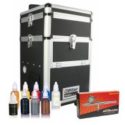 Iwata Professional Body Art Kit with Maxx Jet Compressor and Storage Unit