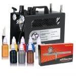 Iwata Professional Body Art Kit with Power Jet Lite Compressor