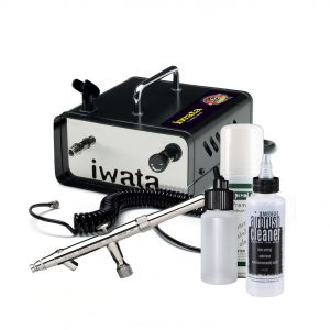 Iwata Professional Mobile Spray Tan Kit with Ninja Jet Compressor