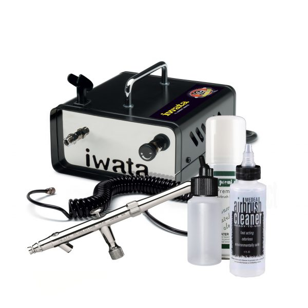 Iwata Professional Mobile Spray Tan Kit with Ninja Jet Compressor
