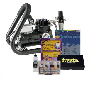 Iwata Smart Jet Plus Handle Tank Airbrush Kit